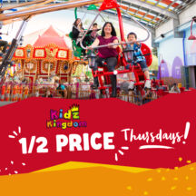 Kidz Kingdom Half Price Thursdays Square