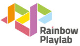 Rainbow Playlab Logo On White