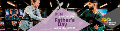 Rainbow Playlab Fathers Day Banner 1