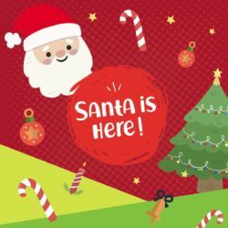 Visit Santa's Grotto at Rainbow's End