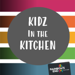 Kidz in the Kitchen: Rainbow recipes for little fingers