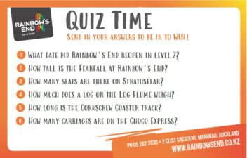 Rainbows End Quiz Competition