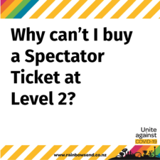 C19 Why Cant I Buy A Spectator Ticket At Level 2