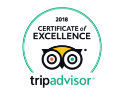 2018 TripAdvisor Certificate of Excellence