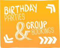 Birthday parties and group bookings